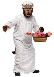 wolf halloween costumes big bad granny wolf costume