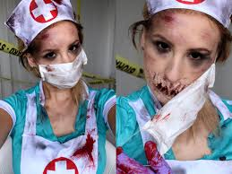 halloween tutorial creepy nurse youtube