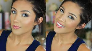 easy simple everyday makeup i work makeup