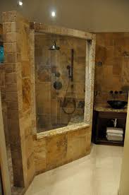 delightful natural stone shower room wall design ideas and