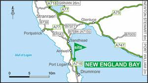 New England On Map New England Bay Club Site The Caravan Club