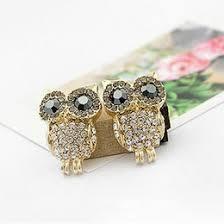 owl earrings 14k gold owl earrings online 14k gold owl earrings for sale