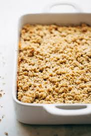 sweet potato casserole with crunchy brown sugar topping recipe