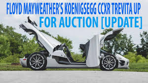 look this floyd mayweather u0027s koenigsegg ccxr trevita up for
