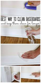 best way to clean baseboards and keep them clean baseboard