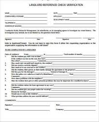 landlord reference template tenant reference letter sample