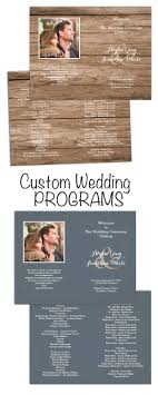 flat wedding programs 50 best wedding programs images on wedding programs