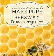 survial mom diy make pure beeswax from honeycomb survival mom