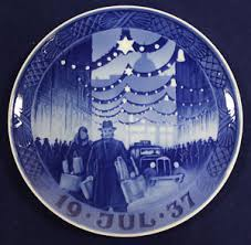 1937 royal copenhagen plate shopping in