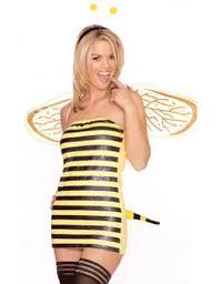 bumble bee costume funtober