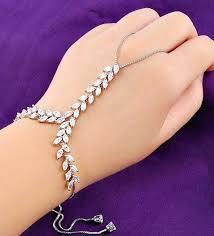 rose gold hand bracelet images Chain bracelet ring chain ring bracelet gold guardianspirit jpg