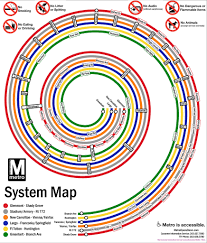 Washington Subway Map Fantasy Metro Map Dc 2100 Philatransport