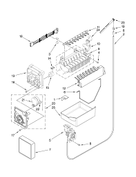 w10190978 ice maker wiring diagram for parts for ice maker plug