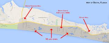 destin map electric golf cart rentals in destin florida