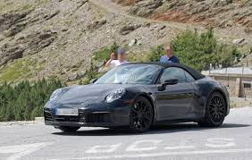 new porsche 2019 spyshots 2019 porsche 911 shows muffler design hints at new