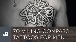 70 viking compass tattoos for men youtube
