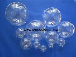shop free shipping 5cm clear plastic fillable