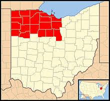 toledo ohio map catholic diocese of toledo