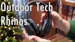 Outdoor Tech Outdoor Tech Rhinos Rugged Headphones At Ces 2017 Youtube