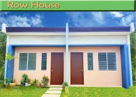 Row House Model - ckl homes balamban cebu daisy homes