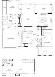 3 bay garage plans plan 1x gensmart pardee homes house plans pinterest house