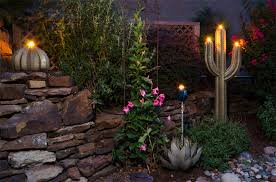 desert steel solar lights 20 torch lights to accentuate your home s outdoor area home design