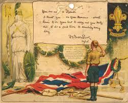 Robert Baden Powell File Baden Powell Scouting Certificate 1914 Jpg Wikimedia Commons