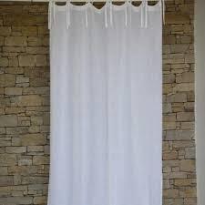 white linen gauze curtain maison d u0027été