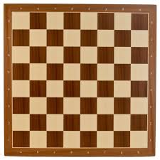 quality mahogany wood chess board with 2 3 8