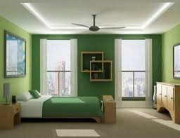 green colour home with simple wall painting designs in collection