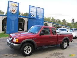Ford Ranger Truck 4x4 - 2002 ford ranger xlt supercab 4x4 in toreador red metallic