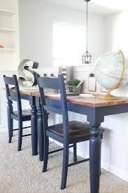 repurposed dining table repurposed kitchen table wall mounted desks orc week 3 bless er