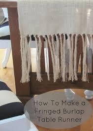 how to make burlap table runners for round tables 12 tutorials for burlap table runners the bright ideas blog