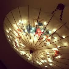 catchy umbrella ceiling light 25 best ideas about umbrella lights