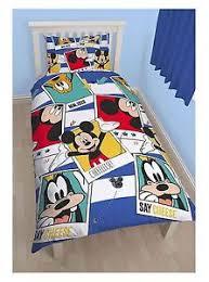 Mickey Mouse Toddler Duvet Set Bedding