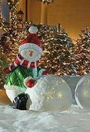Outdoor Christmas Decorations Kohls by Lighted Snowy Outdoor Snowman Outdoor Christmas Decorations