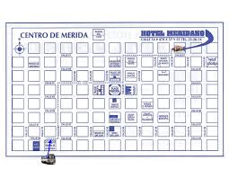 maps to came bus terminals city of merida state of yucatan