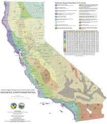 Zone Map California Climate Zone Map California Map