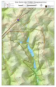 Beaver Lake Map West Virginia Dnr Wma Map Project