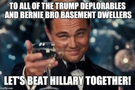 Basement Dweller Meme - leonardo dicaprio cheers memes imgflip