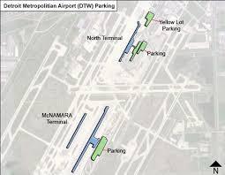detroit metro airport map detroit metropolitian airport parking dtw airport term