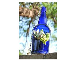 Hanging Succulent Planter by Sale Wine Bottle Planter Hanging Succulent Planter