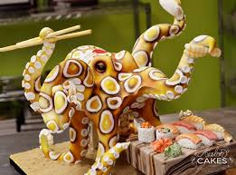 octochef cake by avalon cakes http goo gl tlh7zn desserts