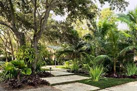 Tropical Landscaping Ideas by Planting Ideas Tropical Garden Furniture Mommyessence Com