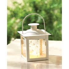 wholesale small white color glass lantern buy wholesale candle