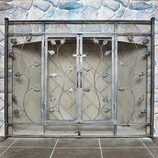 fireplace screen with doors binhminh decoration