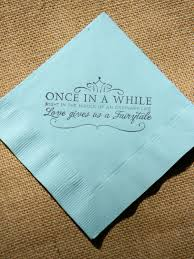 cheap wedding napkins accessories design your own custom cocktail napkins with your