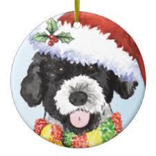 portuguese water dog christmas tree decorations u0026 ornaments