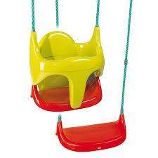 siege balancoire bébé balancoire siège bébé balançoire 2 en 1 smoby king jouet