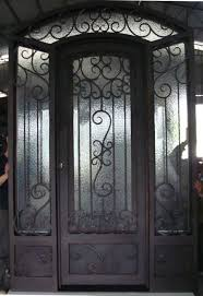 front door glass designs single custom frosted glass front doors with black iron for small